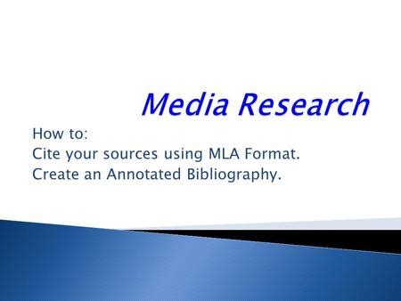 Annotated Bibliography National History Day NHD